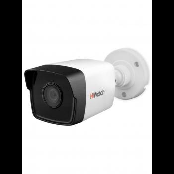Уличная цилиндрическая IP-камера DS-I250M (2.8mm), 2Мп, фикс. объектив 2.8мм, ИК до 30м, DWDR, DC12В/PoE, IP66, встр. микр.