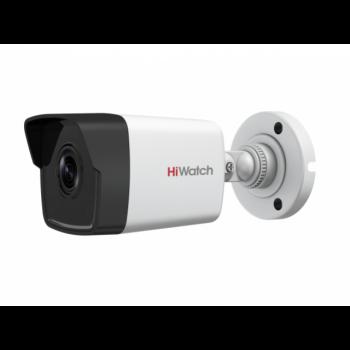 Уличная цилиндрическая IP-камера DS-I400(B) (2.8mm), 4Мп, фикс. объектив 2.8мм, ИК до 30м, DWDR, DC12В/PoE, IP67