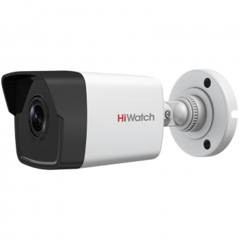 Уличная цилиндрическая IP-камера DS-I450 (2.8mm), 4Мп, фикс. объектив 2.8мм, ИК до 30м, WDR 120дБ, DC12В/PoE, IP67