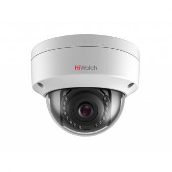 Уличная купольная IP-камера DS-I452 (2.8mm), 4Мп, фикс. объектив 2.8мм, ИК до 30м, WDR 120дБ, DC12В/PoE, IP67, IK10