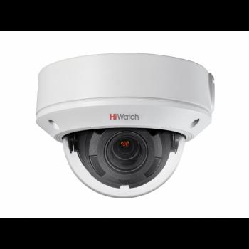 Уличная купольная IP-камера DS-I458 (2.8-12mm), 4Мп, вариообъектив 2.8-12мм, ИК до 30м, WDR 120дБ, microSD до 128Гб, DC12В/PoE, IP67, IK10