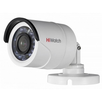 Уличная мини IP-камера DS-N201, 1.3Мп, 4мм, 12V/PoE, ИК подсветка до 15м, с кронштейном.