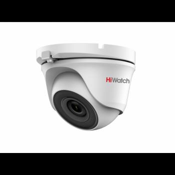 HD-TVI камера купольная 2Мп HiWatch DS-T203 (B) (2.8 mm)