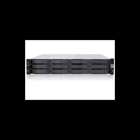 Бандл система хранения данных Infortrend DS1012R+хост-платы 10G (до 12xHDD, SAS6G внеш. порт, 2x2GB, 4x10G+8x1G портов iSCSI)