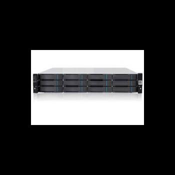 Система хранения данных Infortrend DS1012R (2xCtrl, до 12xHDD, SAS6G внеш. порт, 2x2GB, 8x1G порта iSCSI)