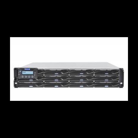 Система хранения данных Infortrend DS3012RUC-C (2xCtrl, до 12xHDD, 2xSAS12G внеш. порт, 2x4GB, 8x1G портов iSCSI)
