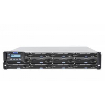 Система хранения данных Infortrend DS3012RUC-C Gen2 (2xCtrl, до 12xHDD, 2xSAS12G внеш. порт, 2x4GB, 8x1G портов iSCSI)