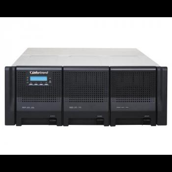 Система хранения данных Infortrend DS3060RE-B (2xCtrl, до 60xHDD, 2xSAS6G внеш. порт, 2x2GB, 4x1G порта iSCSI)