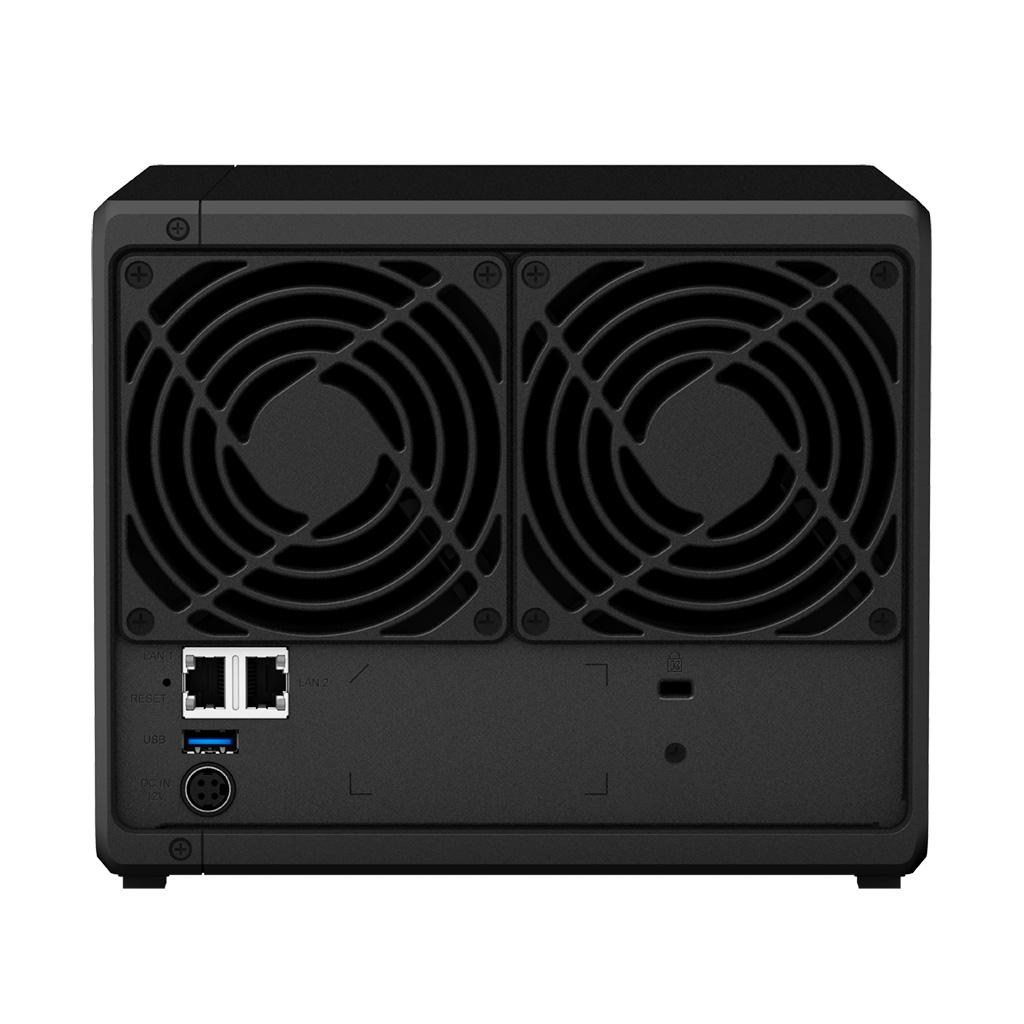 "NAS-сервер Synology DiskStation DS418, 4xHDD3,5"", 2х1000Base-T, без дисков"