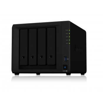 "NAS-сервер Synology DiskStation DS920+, 4xHDD 3,5"", 2х1000Base-T, без дисков"