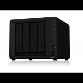 "Сетевое хранилище Synology DiskStation DS920+, 4xHDD 3,5"", 2х1000Base-T, без дисков"