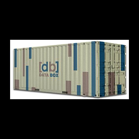 Дата центр - контейнерный ЦОД Data Box