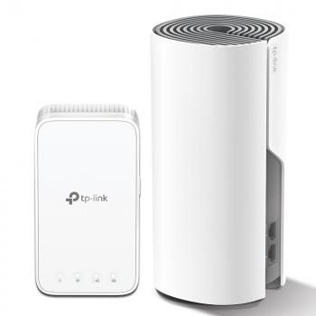 Комплект - Беспроводной маршрутизаитор AC1200 Домашняя Mesh Wi-Fi система Deco E3 (2 устройства)