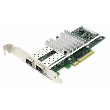 Сетевая карта Intel X520-DA2 (SFP+, 10GBase-X, 2 ports, Low-profile)