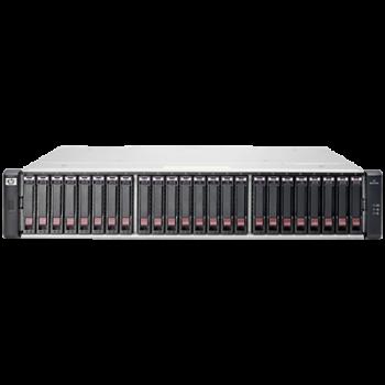 """Дисковый массив HP MSA 1040 Dual 8 Гбит/с FC 2.5"""""""