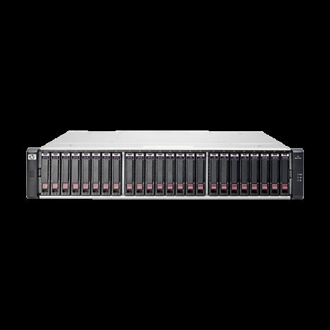 """Дисковый массив HP MSA 1040 Dual 1 Гбит/с 1G iSCSI 2.5"""""""