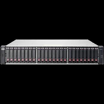"""Дисковый массив HP MSA 1040 Dual 10 Гбит/с 10G iSCSI 2.5"""""""