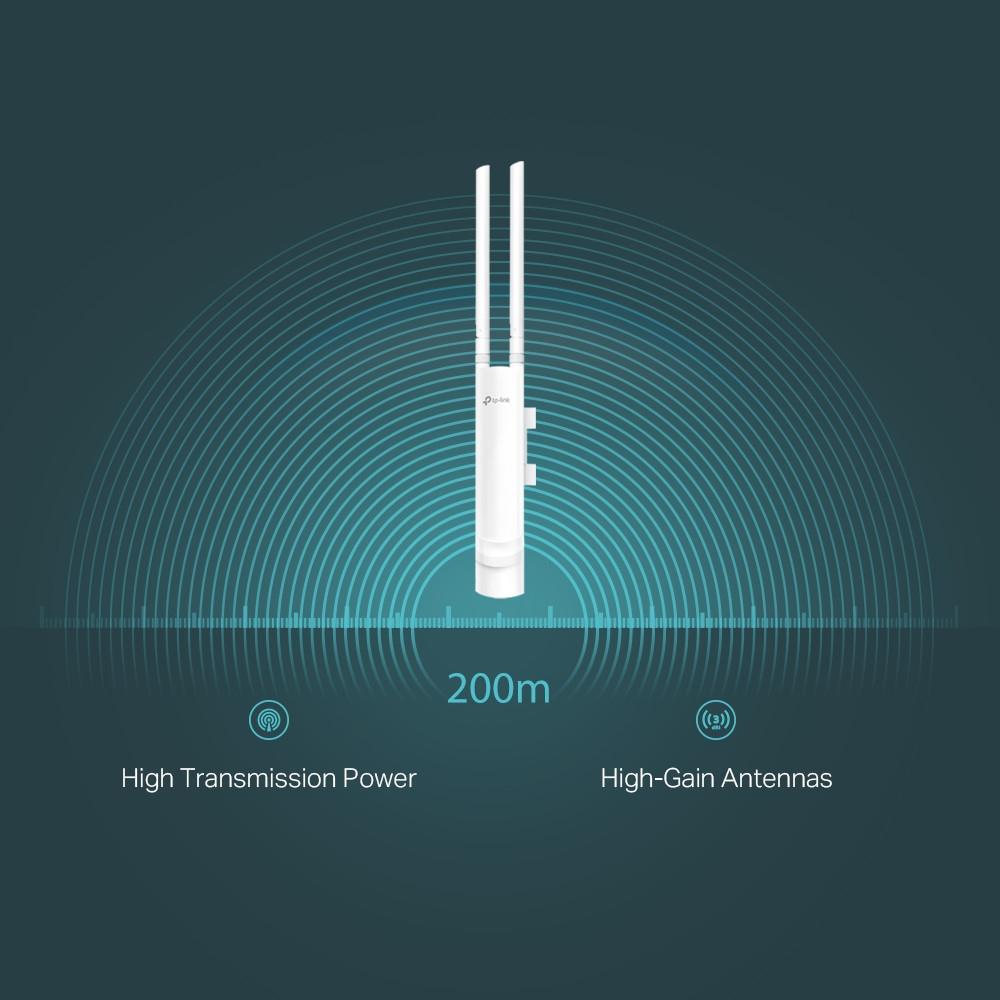 N300 Наружная точка доступа Wi‑Fi EAP110-Outdoor