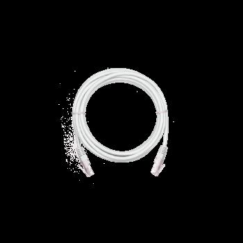 Коммутационный шнур NETLAN U/UTP 4 пары,Кат.5е (Класс D),100МГц, 2хRJ45/8P8C, T568B, заливной, многож, BC (чистая медь), PVC нг(B),серый, 1м, уп 10шт