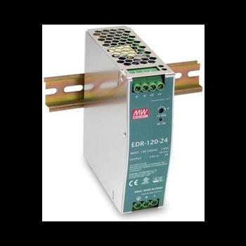 EDR-120-24 Блок питания на DIN-рейку, 24В, 5А, 120Вт Mean Well