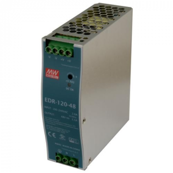 Источник питания EDR-120-48, 120Вт, 48В, 2.5А MeanWell
