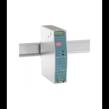 EDR-75-48 Блок питания на DIN-рейку, 48В, 1,6 А, 75Вт Mean Well