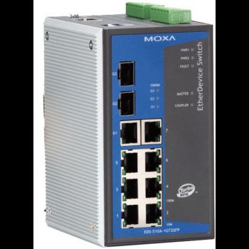 Коммутатор Moxa EDS-510A-1GT2SFP