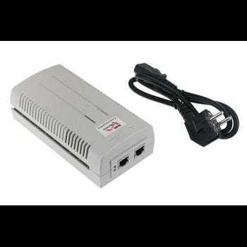 PoE инжектор 60W (100-240 AC source, EU AC cable)