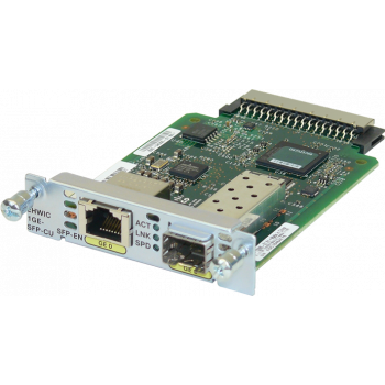 Модуль Cisco EHWIC-1GE-SFP-CU