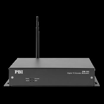 Одноканальный QAM модулятор и энкодер MPEG-2 EM-103-H