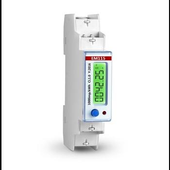 Счётчик электрической энергии EM115-MOD интерфейс RS485 MODBUS крепление DIN