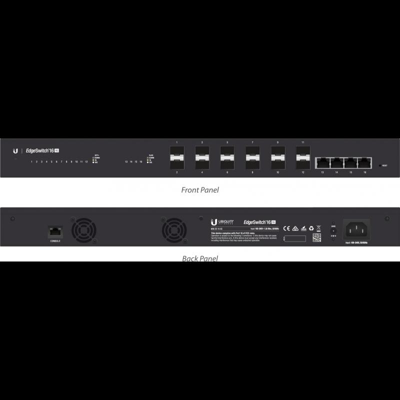 Коммутатор Ubiquiti EdgeSwitch 16 XG