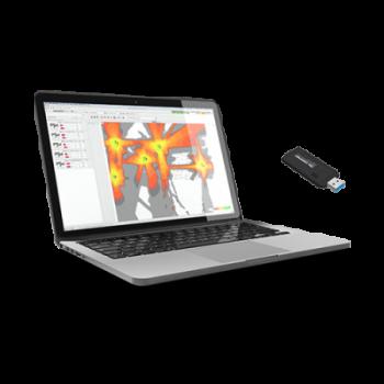 Анализатор Wi-Fi сети Ekahau Pro, USB адаптер для обследований (SA-1) + 1 год поддержки