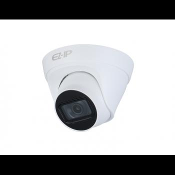IP-камера Dahua EZ-IPC-T1B41P-0280B, 4Мп (2688 × 1520) 20к/с, объектив 2.8мм, 12В/PoE 802.3af, DWDR, ИК до 30м, IP67