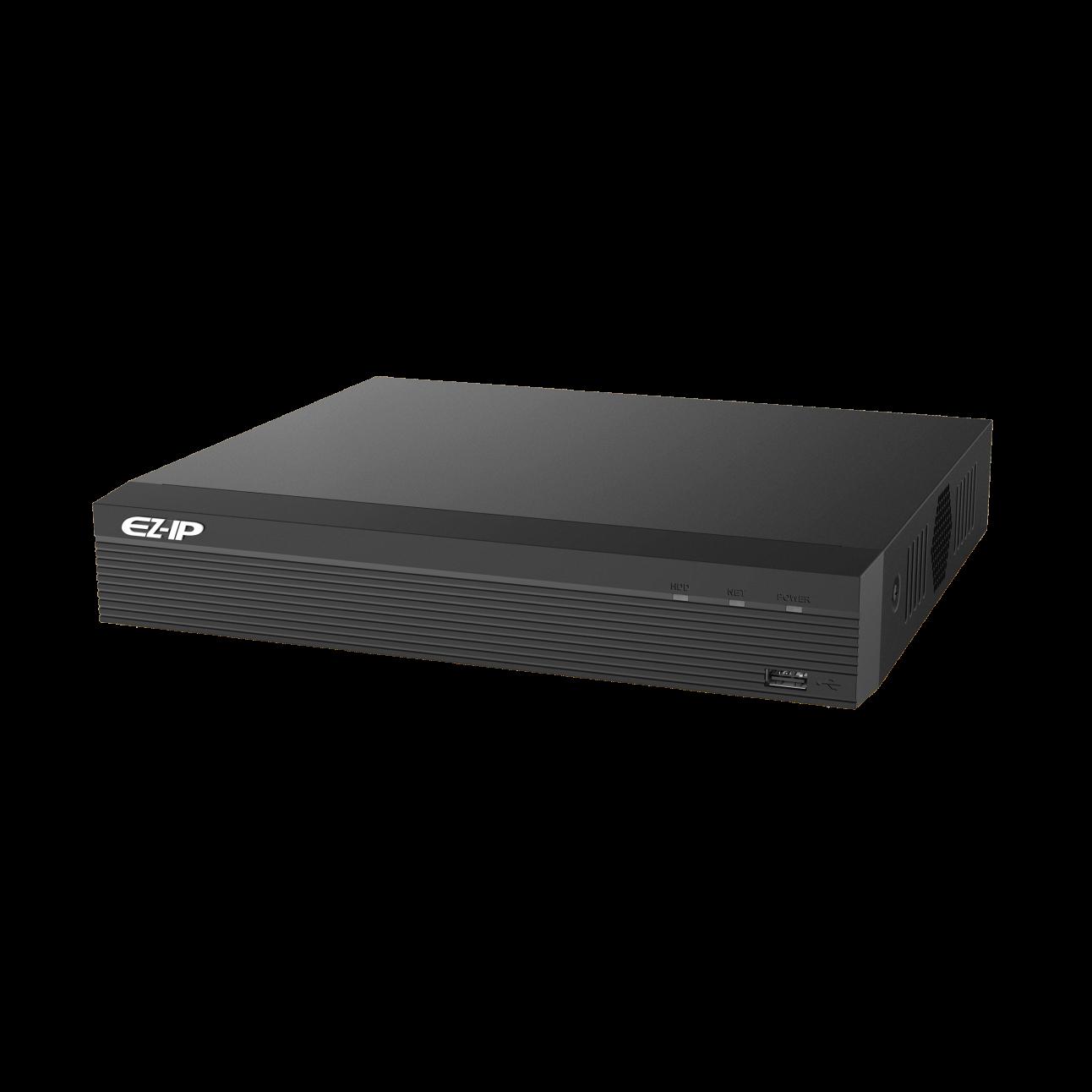 IP видеорегистратор Dahua EZ-NVR1B08HS 8-канальный, до 8Мп, 1HDD до 4Тб, HDMI, VGA, 2 порта USB 2.0, DC12В