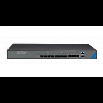 OLT C-DATA FD1104SN с 4 портами GEPON (SFP), 4 GE комбо-порта, 2 БП АC