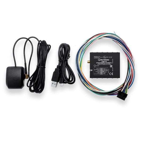 FMB125 GPS контроллер местонахождения и состояния транспорта