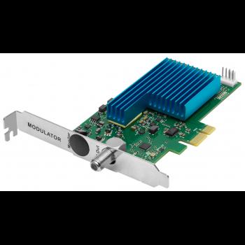Карта 4-полосного QAM модулятора PCIe