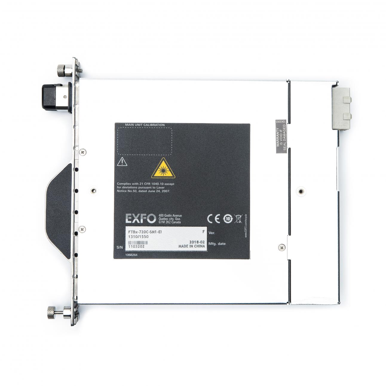Рефлектометрический модуль FTBx-720C-SM1-EI-EUI-89