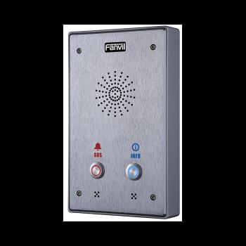 Fanvil i12-N-02P интерком, накладной, внешний, IP65, IK10, 2 кнопки