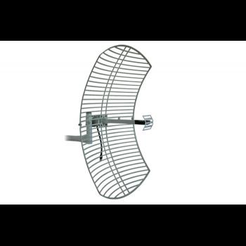 GRID антенна с сетчатым рефлектором Cyberbajt, 2,4 ГГц, 24 dBi