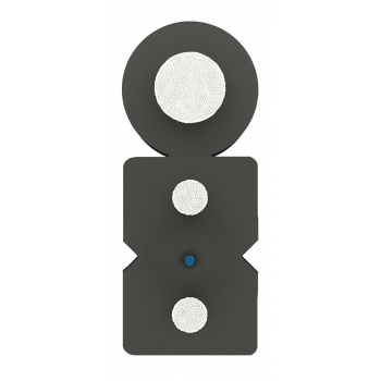 Кабель оптический SM1 FTTx, 1 волокно, для наружной и внутренней укладки, с дополнительным несущим элементом (FRP 1.0 мм) бухта 2км