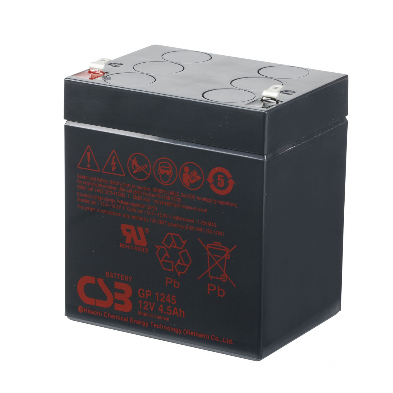 Аккумулятор CSB GP 1245 F2