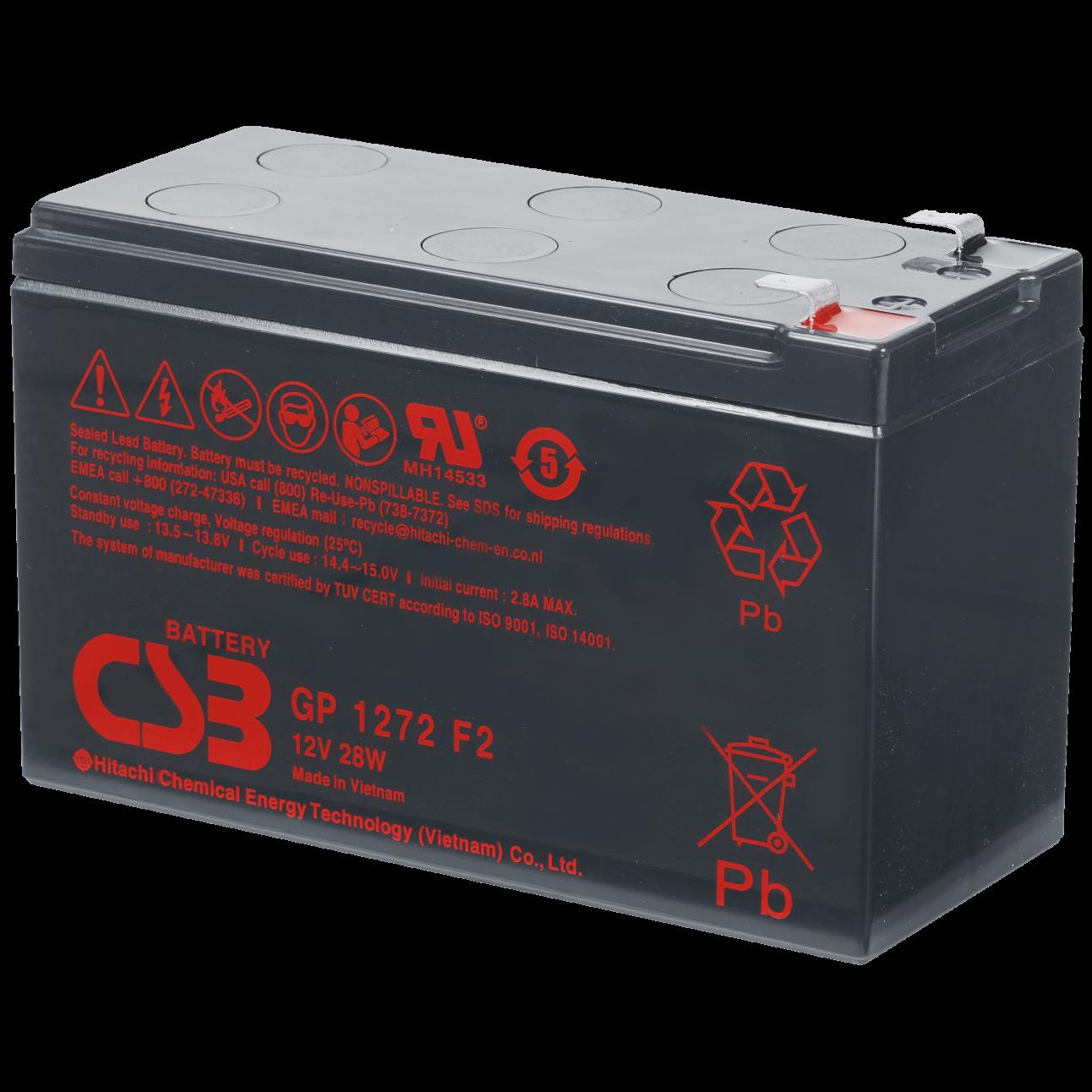 Аккумулятор CSB GP 1272 F2