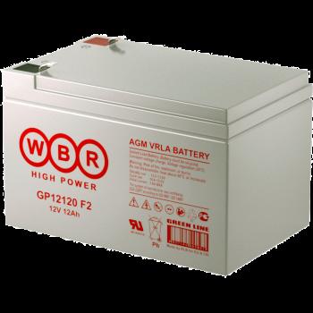 Батарея аккумуляторная WBR GP12120 F2