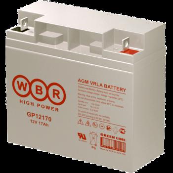 Батарея аккумуляторная WBR GP12170