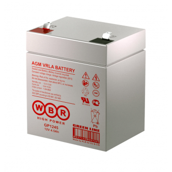 Батарея аккумуляторная WBR GP1245