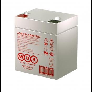 Батарея аккумуляторная WBR GP1255 F2
