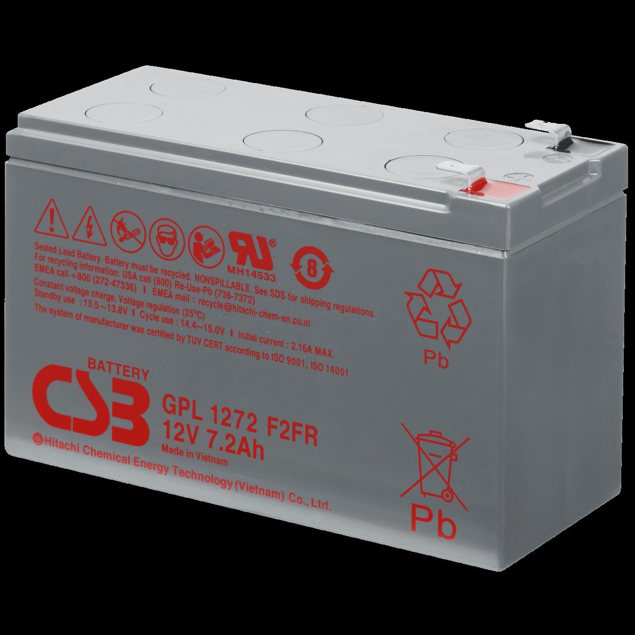 Аккумулятор CSB GPL 1272 F2 FR