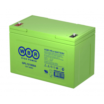 Батарея аккумуляторная WBR GPL121000A